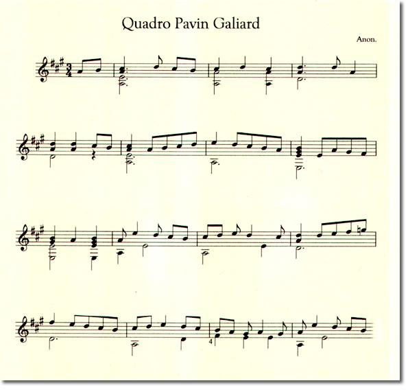 QUADRO PAVIN GALLIARD